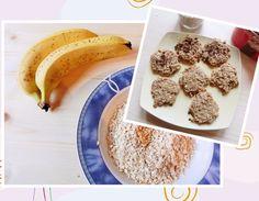Bananen-Cookies Banane wirkt kühlend