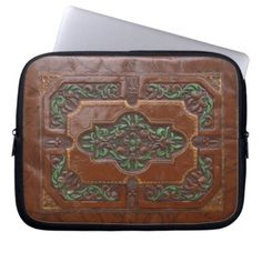Embossed Leather Look ~ Laptop Sleeve