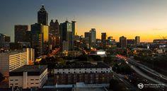 Atlanta Sonnenuntergang - iPhone 7 - Lightroom Mobile