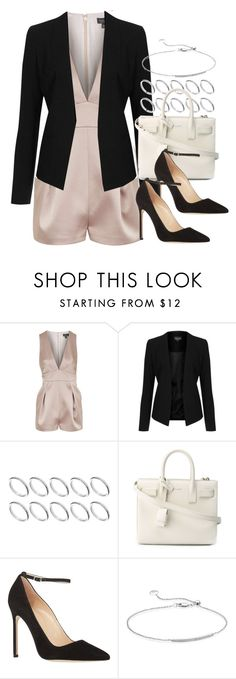 """""""Style #9397"""" by vany-alvarado ❤ liked on Polyvore featuring Topshop, ASOS, Yves Saint Laurent, Manolo Blahnik and Monica Vinader"""