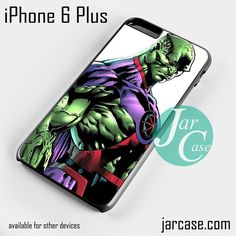 Martian Phone case for iPhone 6 Plus and other iPhone devices