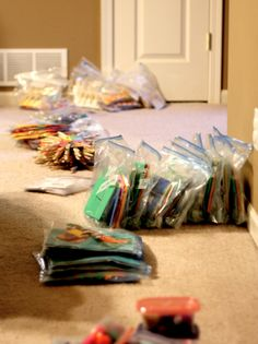 Busy Bags for Toddlers - hosting a busy bag swap in July if anyone is interested! Hoping for one of the last weekends.