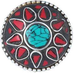 Waama Jewels Brass Cubic Zirconia Silver Ring