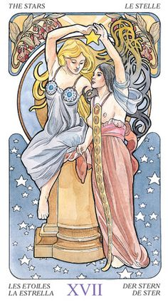 Tarot Art Nouveau (English and Spanish Edition) by Lo Scarabeo  -- I LOVE THIS!!