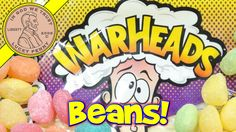 WarHeads Sour Jelly Beans, 6 Tasty Flavors!   #WarHeadsCandy #JellyBeans #SourCandy