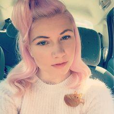 Pink hair + our Fox Brooch = LOVE! > http://www.tattydevine.com/fox-brooch-honey