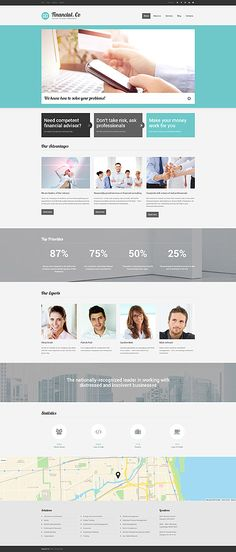 Financial Company #Drupal #template. #themes #business #responsive