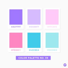 Color Palette No. 39 #color #colorscheme #colorpalette
