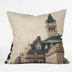 Catherine McDonald American Royalty Outdoor Throw Pillow | DENY Designs Home Accessories #castle