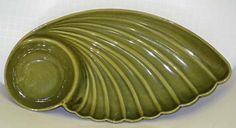 MODERN STYLISH Vintage Nasco Santa Anita Ware Sierra Olive Chip & Dip Bowl Plate $20.00