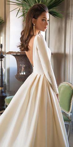 24 Trendy wedding dresses simple a line beautiful Lace Wedding Dress, Long Sleeve Wedding, Modest Wedding Dresses, Lace Dress, Hair Wedding, Dress Long, Mila Nova Wedding Dress, Wedding Gowns, Meghan Markle Wedding Dress