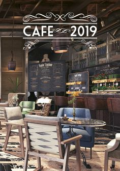 Nástěnný kalendář CAFE 2019 Train Station, Art Quotes, Concept