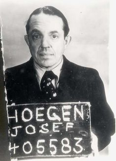 Joseph Hoegen was one of the most notorious Gestapo officers in the German city of Cologne. He was known for his unbounded cruelty and constantly changing forms of torture that he would devise. After the war, he was arrested by the Allies and turned over to German authorities. He was put through trial and given nine years. In 1953, he was pardoned and went on to become a merchant in Cologne. He died in 1973 without paying for his crimes.