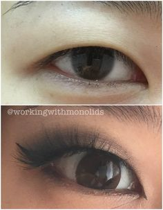 Monolid Make Up