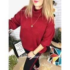 7 meilleures images du tableau Pull rouge   Pull rouge, Pull
