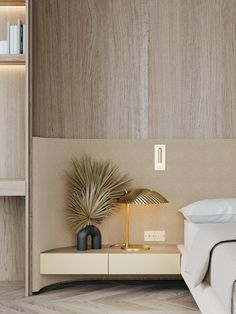 Apartment, Istanbul on Behance Interior Architecture, Interior And Exterior, Interior Design, Bed Furniture, Furniture Design, Home Bedroom, Bedroom Decor, Bed Design, House Design