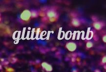 Cover image for my glitter bomb board!