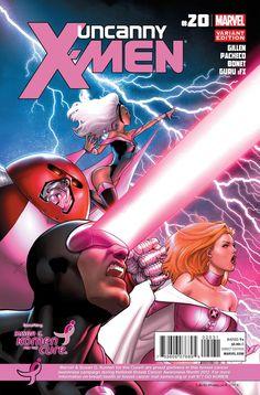 Pink color for the Uncanny X-Men