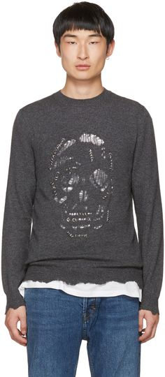 ALEXANDER MCQUEEN . #alexandermcqueen #cloth #pullover