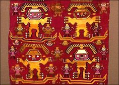 The beautiful iconographic style of the Chavín tribe. Ancient Symbols, Ancient Art, Inca Art, Peruvian Art, Peruvian Textiles, Naive Art, Old Art, Abstract Pattern, Art And Architecture