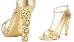 Miumiu Crystal Heel Design