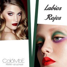 Los l#abios en la gama de #rojos / #tintos son ya un clásico tanto como para #maquillaje social como para maquillaje #editorial.
