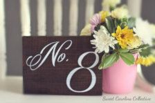 Wedding Table Numbers - Wedding Decorations - Page 2