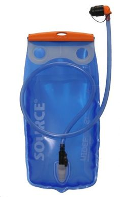 Source Outdoor Widepac Hydration System Reservoir with Helix Bite Valve, 2-Liter, Transparent Blue *** Click here for more details @ https://www.amazon.com/gp/product/B004QMDS1G/?tag=homeimprtip08-20&pvw=310716003952