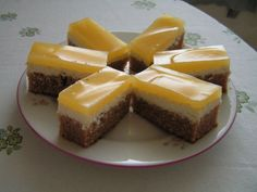 TVAROHOVÝ REZ Fanta, Czech Recipes, Cheesecake, Czech Food, Basket, Aioli, Cream Puff Dessert, Puding Cake, Skinny Recipes