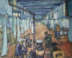 hopital d'arles 1889 vincent van gogh