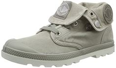 Palladium Baggy Low LP, Damen Desert Boots, Grau (Concrete/Silver Birch), 41 EU (7 Damen UK) - http://uhr.haus/palladium/41-eu-palladium-baggy-lp-damen-desert-boots-2