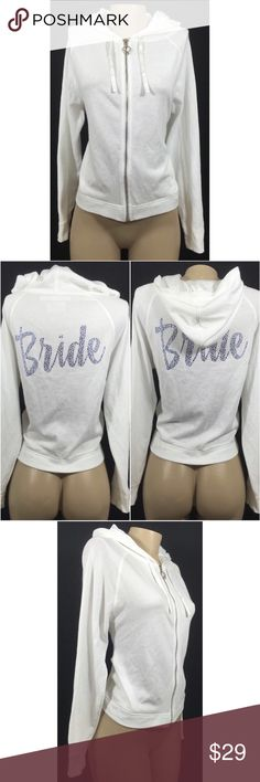 Victoria's Secret Wedding Bride Jacket Size Small Gently worn with no flaws. Victoria's Secret Jackets & Coats