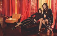 Salvatore Ferragamo Goes Hollywood for Fall 2015 Campaign - Fashion Gone Rogue