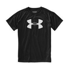 Under Armour Boys' Big Logo UA Tech T-Shirt