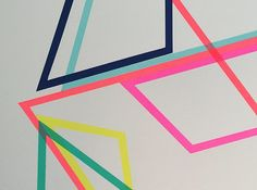 Detail of 'Shift one of two Frea Buckler limited edition screen prints available exclusively from Look Up. Central Saint Martins, Online Print Shop, Affordable Art, Geometric Art, Limited Edition Prints, Looking Up, Printmaking, Geometry, Screen Printing