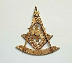 Colorado Lodge #26 Antique Antique 1916 Masonic Pocket Watch Fob 10k Gold Idaho Springs Jewelry & Watches