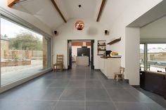 Minoli Tiles - Speculative Development / Stable Conversion, Oxfordshire - Floor Tiles: Evolution Evolve Iron 60 x 60 cm - https://www.minoli.co.uk/tiles/evolve-iron/