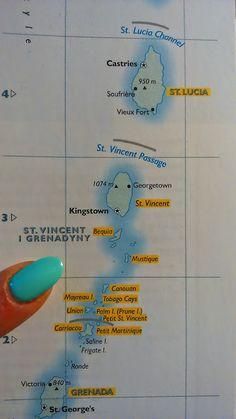 Podróż za marzeniami: Bequia - karaibskie wspomnienia na wesoło - część ... Bequia, Victoria, Nikon, Map, Location Map, Maps