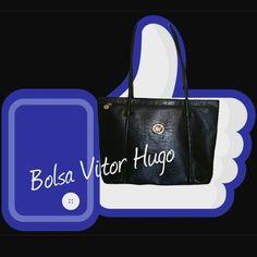Bolsa Vitor Hugo  Croco Black  #lovebrecho #uohbrecho #bag #bolsas #vitorhugo #brechovirtual #moda #instagood #instafashion #pretty #girly #girl #girls #love #shoppingonline  #cool #picoftheday  #sustentabilidade #euquero #good Made with @nocrop_rc #rcnocrop