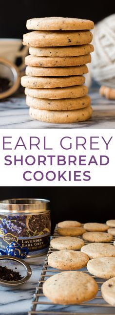 Lavender Earl Grey Shortbread Cookies made with Private Selection Tea! : Lavender Earl Grey Shortbread Cookies made with Private Selection Tea! These Lavender Earl Grey Shortbread Cookies are buttery, delicious, and so easy to make! They're perfect a Easy Shortbread Cookie Recipe, Chocolate Chip Shortbread Cookies, Shortbread Recipes, Best Cookie Recipes, Best Dessert Recipes, Tea Recipes, Baking Recipes, Baking Ideas, Köstliche Desserts