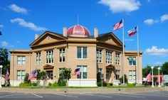 Rains County Courthouse, Emory, Texas #courhouses