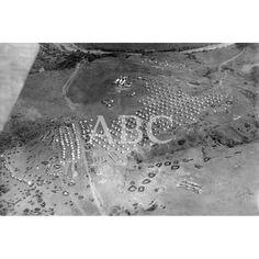 MARRUECOS EN LA REGIÓN OCCIDENTAL EL CAMPAMENTO ESPAÑOL DE MUIRES VISTO DESDE UN AEROPLANO:14/01/1922 Descarga y compra fotografías históricas en | abcfoto.abc.es