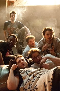 This Is The End - James Franco, Danny McBride, Seth Rogen, Jonah Hill, Jay Baruchel and Craig Robinson. - should be great!