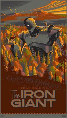 Impresionantes carteles de cine ilustrados de Laurent Durieux