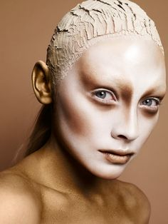 Alienesque and clay. Highlight/contour extreme diagram.