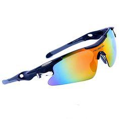 RIVBOS 802 Polarized Sports Sunglasse…