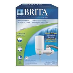 Brita On Tap White Filtration System