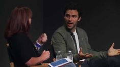 AIDAN TURNER // Poldark Q&A at Apple Store in Soho, NY<---the part where she talks about him being shirtless in Poldark. He's very modest and humble with that answer. Poldark Series 2, Bbc Poldark, Poldark 2015, Demelza Poldark, Ross Poldark, Ross And Demelza, Aidan Turner Poldark, Masterpiece Theater, Bbc Drama