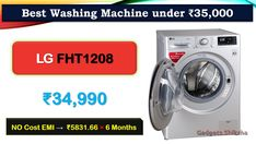 Max Spin-Speed: 1200   Intelligent Wash-System   Built-in Heater: {Steam-Wash, Hot-Water Wash}   Warranty: {2-Year for the Whole-Unit, 10-Years for Inverter-Motor}   Delay-Start   Auto-Restart   Turbo-Wash   Fuzzy-Logic   Remaining Time-Delay   Remaining-Time in Wash-Cycle Completion   ADD-Laundry Tub Cleaner, Wash Tubs, Latest Gadgets, 10 Years, Washing Machine, Medical, The Unit, Cleaning, Marketing