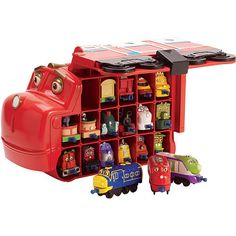 """Chuggington Wilson Carry Case - TOMY - Toys """"R"""" Us"""